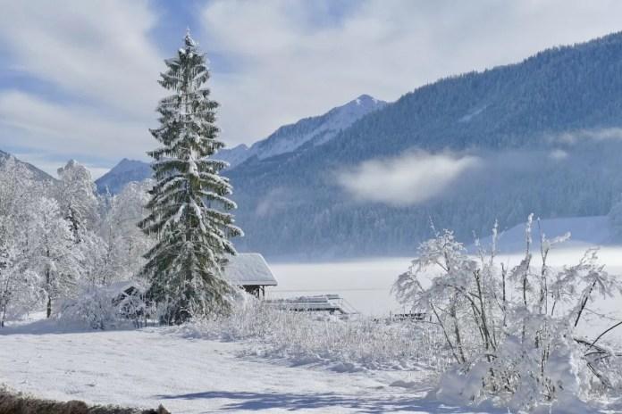Gegarandeerd een witte kerst! Bron: Pixabay
