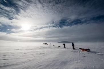 Nooit meer slapen, Finnmarkplateau Jolly Nomad 15