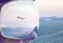 Nieuwe ski-luchthaven