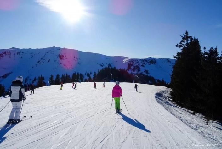 Wintersport in Kirchberg