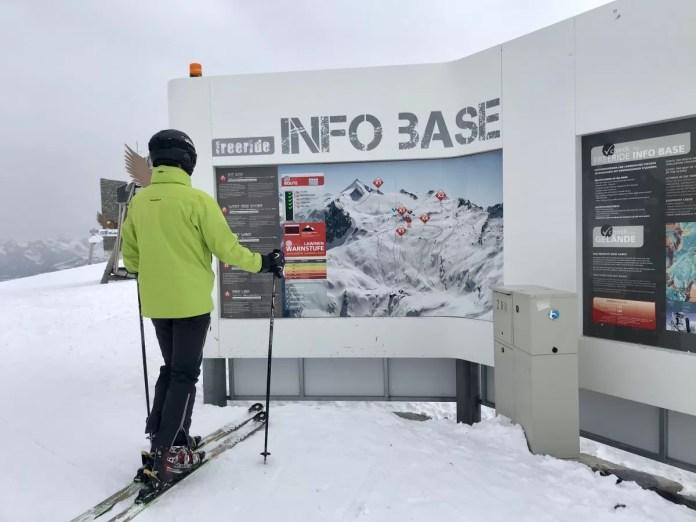 Op de Kitzsteinhorn zijn er diverse freerideroutes voor de liefhebber. Foto: Pauline van der Waal