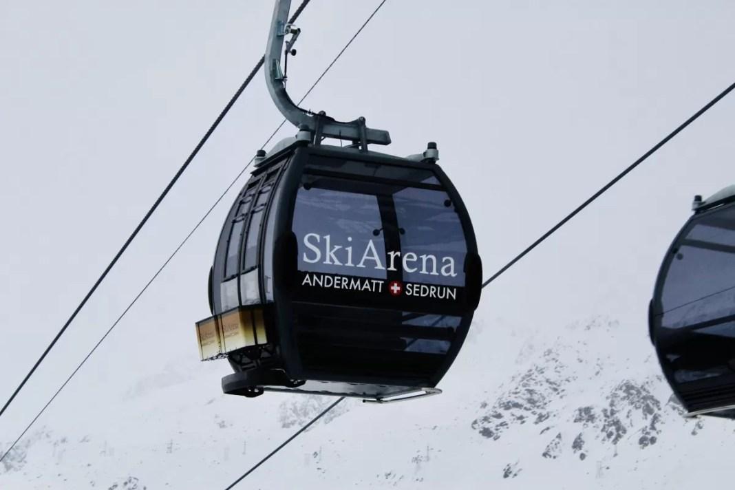 Weinig skiërs op de piste vandaag. Foto: Pauline van der Waal