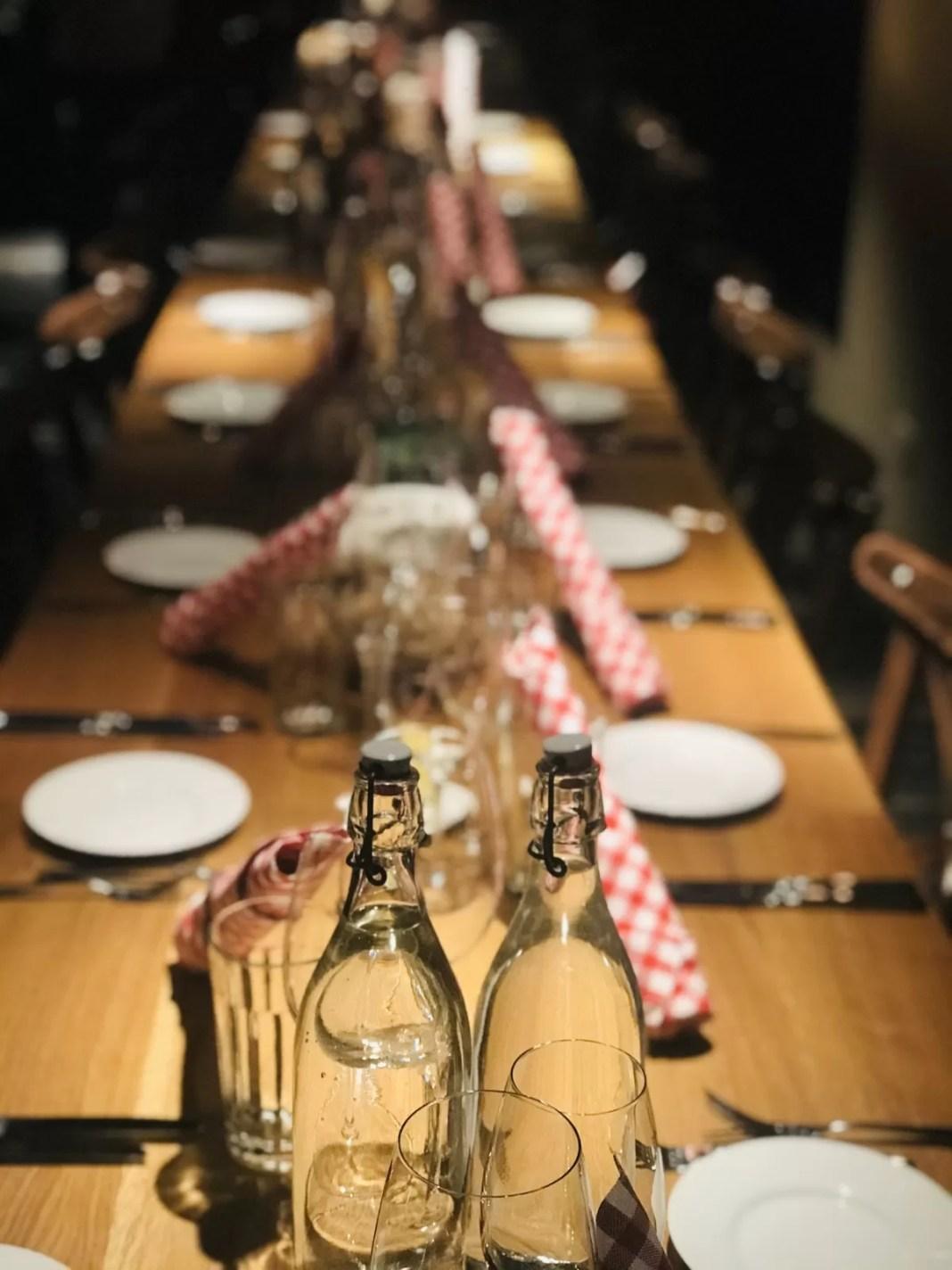 Heerlijk eten, hier in Restaurant Biselli. Direct tegenover ons hotel. Foto: Pauline van der Waal