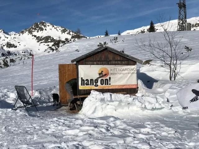 HangOn Snowkite school. Fotocredits Peter de Vries