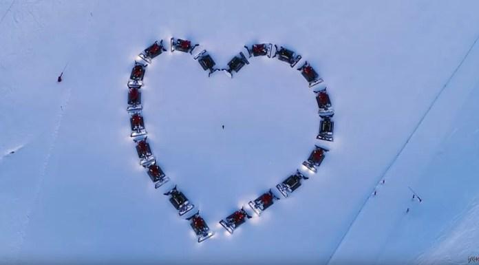 liefde sneeuw