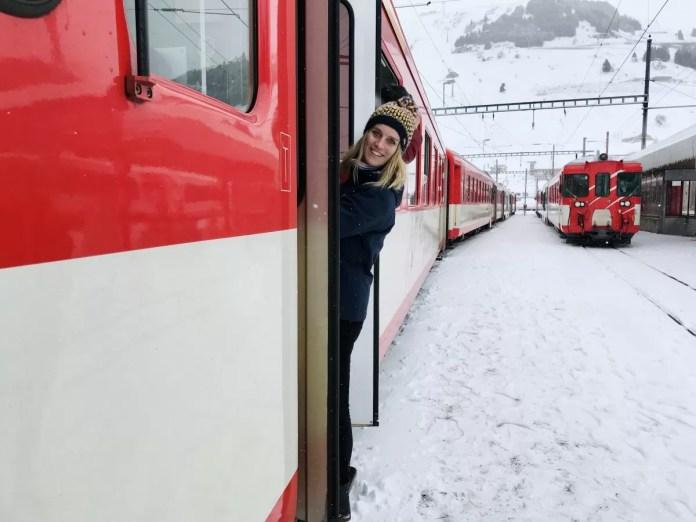 Tijd om te vertrekken! Foto: Pauline van der Waal