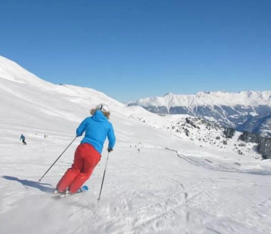 Als skiën dansen wordt
