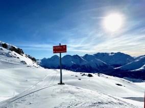 Vooral de geoefende skiër kan hier zijn lol op! Foto: Maaike de Vries