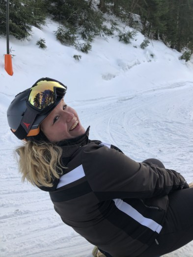 Wat een domper: voortijdig einde van het skiseizoen.