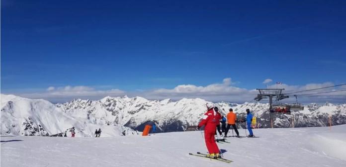Skiën in Serfaus toen er nog niet zoveel aan de hand was. Foto: Saskia Smulders
