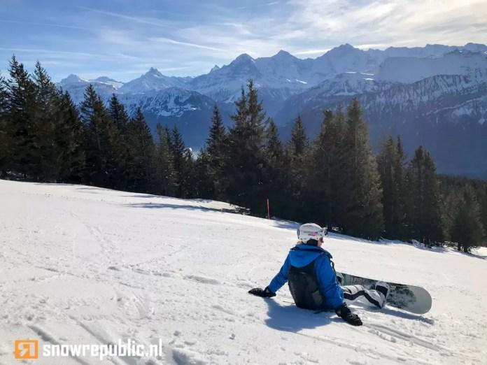 snowboarder zwitserland