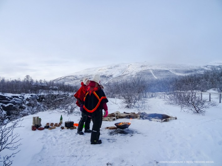 Zweeds Lapland. Foto: Edwin Hagenouw