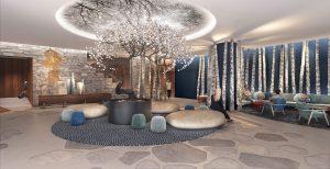 Club Med Tomamu Hokkaido_Reception _ Welcome Lounge