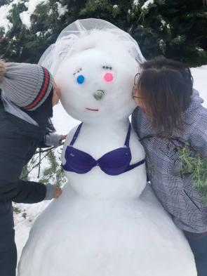 Snow whoa-man by Chris Murdock