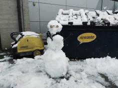 Snowman by Palta Acker