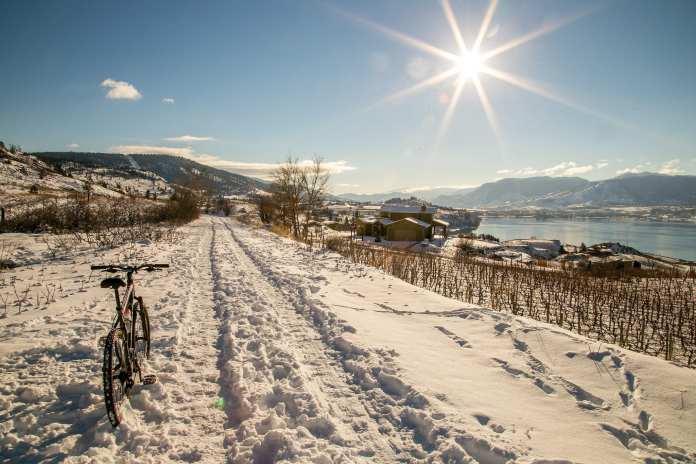 winter in penticton
