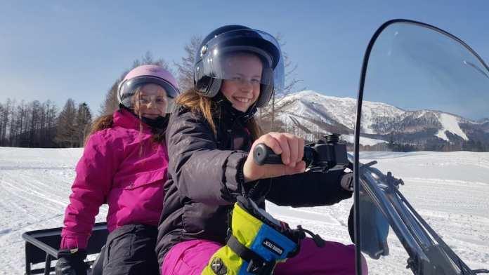hoshino resort tomamu – snowmobiling