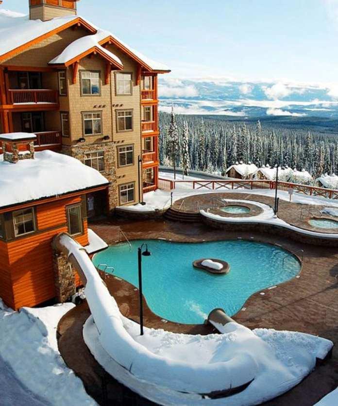 winter accom sundace exterior pool x px