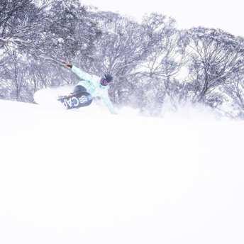 rojo snowboard