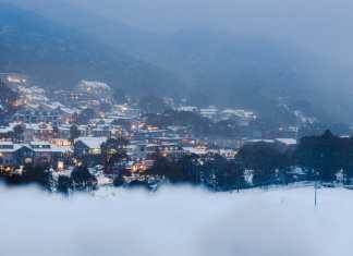 tim landscape village shot from mountain aug