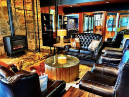 The lounge at The Man
