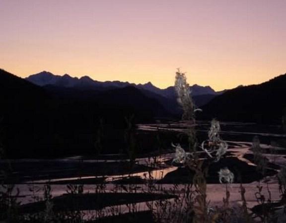 Klehini River at Sunset