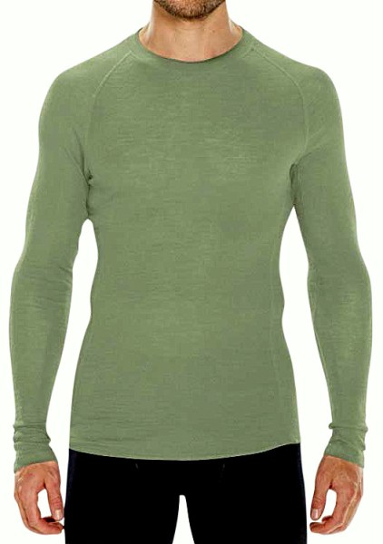 The Oil Green Vital Long Sleeve is in the men's selection only.