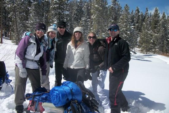 Breckenridge hut- start of trip
