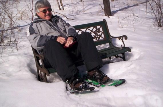 Jim Joque on bench