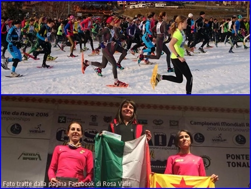 The beginning and the end as winner Isabella Morlini is flanked by Ragna Debats (R) and Rosa Valls