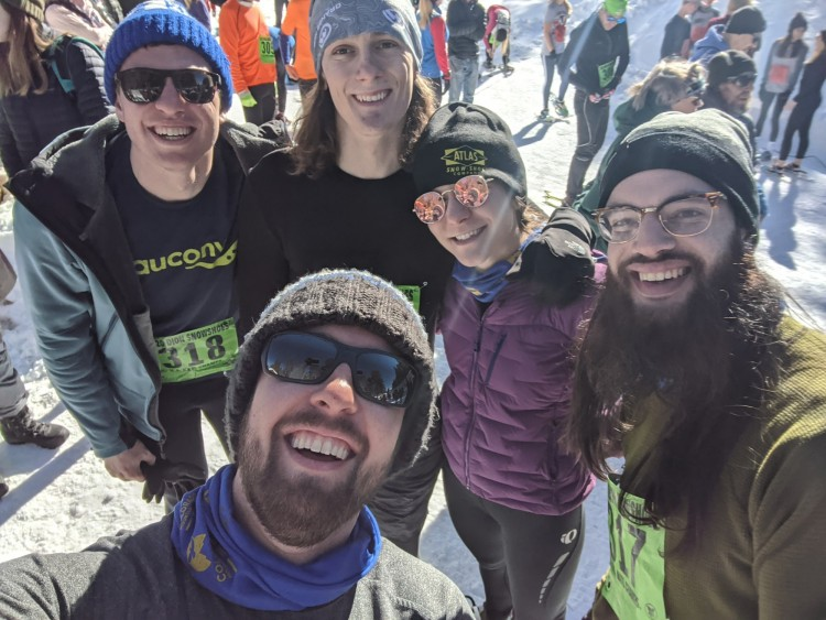 snowshoe mag team at USSSA nationals in Leadville 2020
