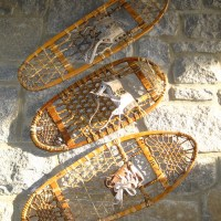 Traditional Wooden Snowshoes: Shapes, Designs, and Names