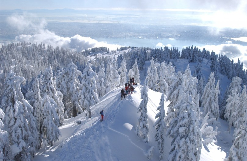 view of Grouse Mountain, BC