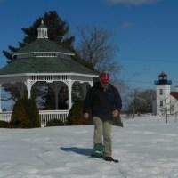 Snowshoeing Michigan's Upper Peninsula In Escanaba