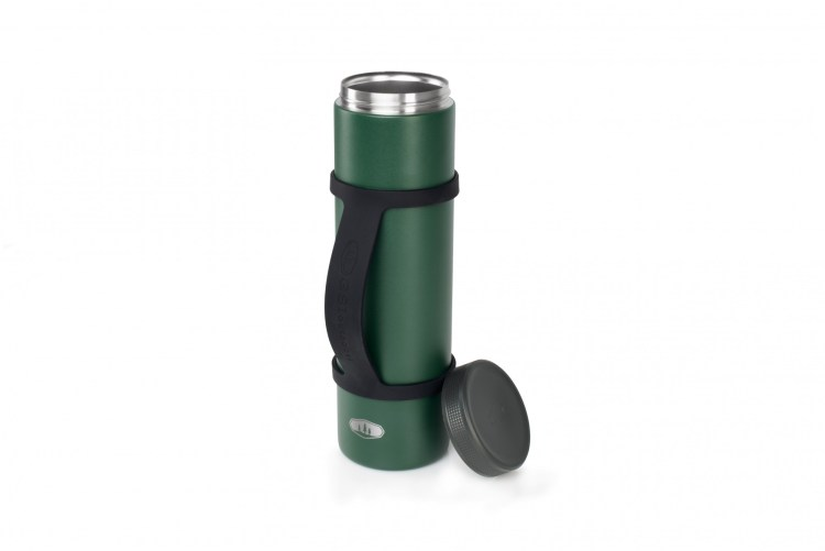 product photo - GSI 2 Can Cooler Stack Green