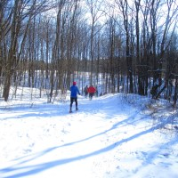 Snowshoeing Near Ithaca, NY