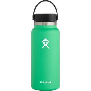 product photo Hydroflask 32 oz water bottle green