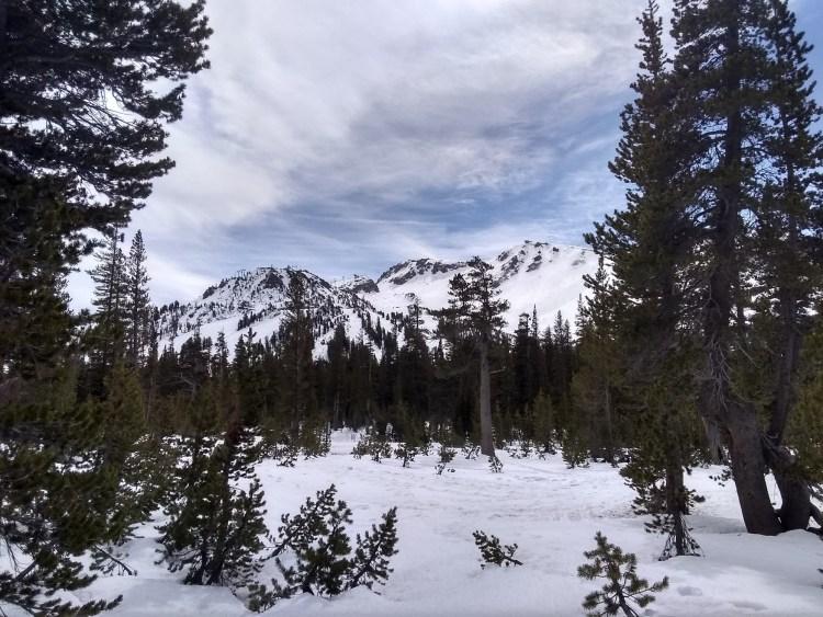 view near Mammoth Mountain, CA