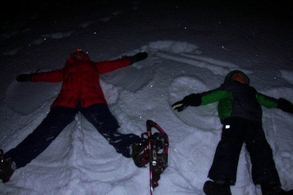 Stargazing and Snow Angels