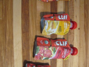 Clif energy foods are available in a variety of flavors and pouch sizes.