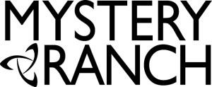 Mystery Ranch black on white logo