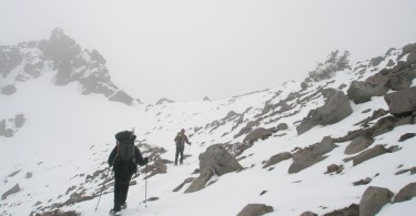 Snowshoe mountaineering