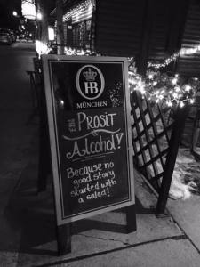 Welcome to Prost Beer Hall.