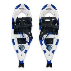 Redfeather Y2 snowshoes blue color