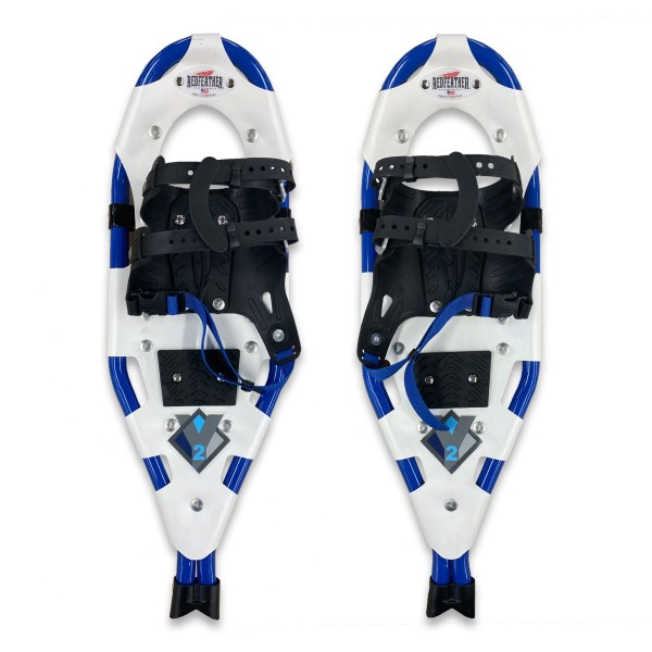 Redfeather Y2 snowshoes blue color