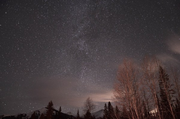 Stargazing in Kananaskis