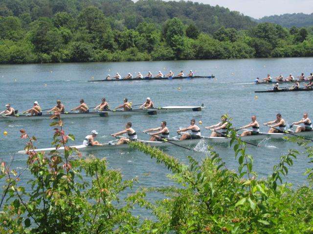 president's fitness challenge: rowing regatta in Oak Ridge, TN