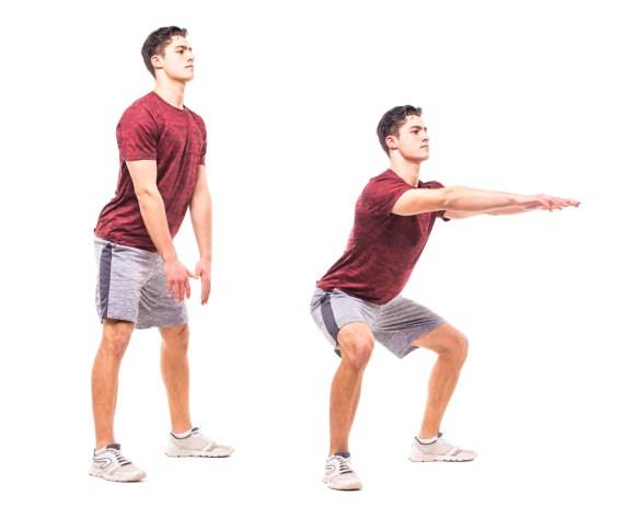 Sumo Squat Exercise