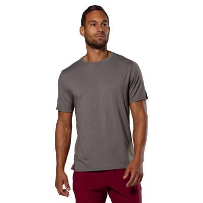 man wearing Swiftwick Dash Tee hero color