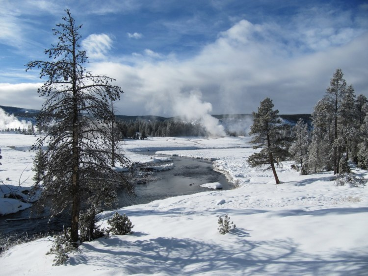 view of Yellowstone Caldera